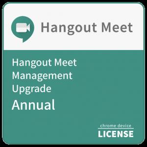 Google Meet Management Upgrade - Annual