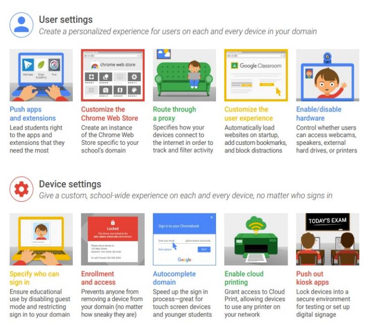 Chrome EDU Upgrade pros